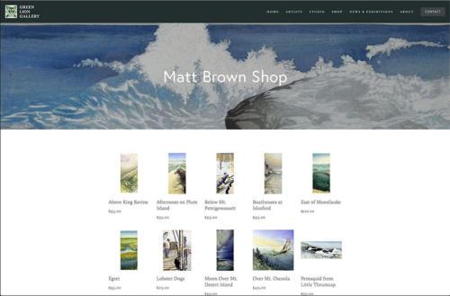 green lion gallery screenshot